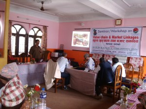 Nepal FOs workshop on value chain & market linkages 2